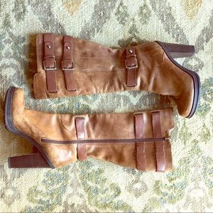Guess GWMARTINI Moto Buckled Platform Boots
